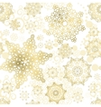 Seamless Cristmas background New Year vector image