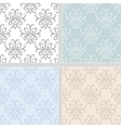 Damask ethnic seamless textile pattern vector image vector image