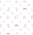 flag icons pattern seamless white background vector image vector image