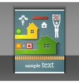 flyer loans for housing vector image