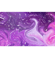 marble texture background deep purple and fluid vector image