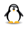 one penguin vector image vector image