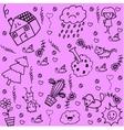 plant doodle art vector image