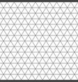 seamless triangle pattern geometric texture vector image vector image