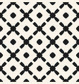 simple black and white geometric seamless pattern vector image vector image