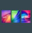 business brochure cover design templates modern vector image