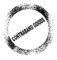 contraband vector image