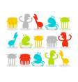 Creatures Pack vector image