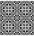 Elegant black and white pattern vector image vector image