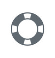 life buoy icon isolated vector image