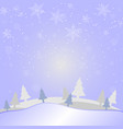 merry christmas and new year on holidays vector image vector image