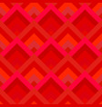 red abstract diagonal shape tile mosaic pattern vector image vector image