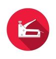 Stapler staple gun icon Repair fix building vector image vector image