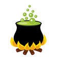 Cauldron - Halloween vector image