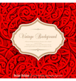 holiday vintage background vector image