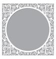 moroccan openwork frame or border design