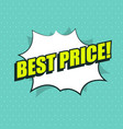 pop art of sale design collection vector image