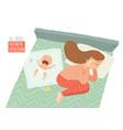 postpartum depression postnatal depression baby vector image