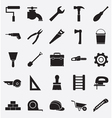 Set of construction tools icons vector image vector image