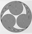 shintu symbol of the universe vector image vector image