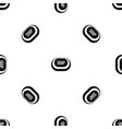 soap pattern seamless black vector image vector image