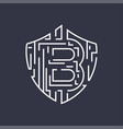 bitcoin logo editable stroke vector image