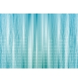 Abstract blue tech background with lines vector image vector image