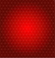 abstract geometrical background Christmas red vector image vector image
