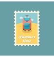 Baggage stamp Travel Summer Vacation vector image vector image