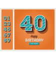 Birthday card editable vector | Price: 3 Credits (USD $3)