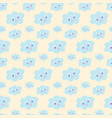 cloud wallpaper for nursery baby bedding nursery vector image vector image