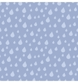 falling rain drops seamless pattern vector image vector image
