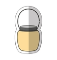 mason jar isolated icon vector image