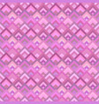 pink abstract seamless diagonal square pattern vector image vector image