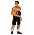 Sport-Man vector image
