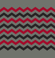 zigzag pattern seamless zig zag background color vector image vector image