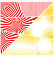 bright comic composition vector image vector image