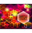 bright shiny background with transparent vector image vector image