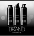 design cosmetics advertising vector image vector image