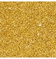Gold glitter texture for your design Golden vector image vector image