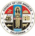 Los Angeles County Seal vector image