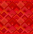 red seamless diagonal shape pattern - mosaic tile vector image vector image