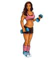 Sport-Girl vector image vector image