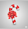 sweet hook with bow vector image vector image
