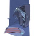 Terrible fairy tale vector image