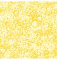 yellow circles seamless pattern vector image