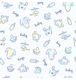 baboy pattern vector image