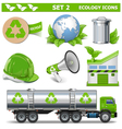 Ecology Icons Set 2 vector image