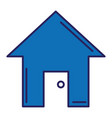 House silhouette isolated icon
