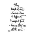 motivational handwritten quote about life vector image